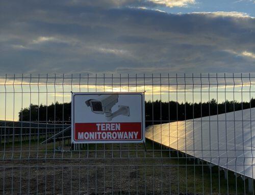 Realizacja instalacji monitoringu na farmie fotowoltaicznej – Słupca